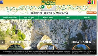 Site internet de Riviere et Nature
