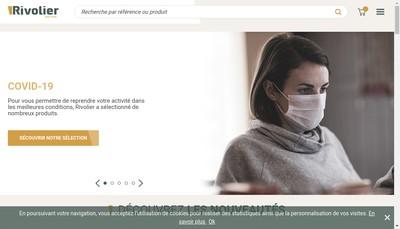 Site internet de Rivolier Pere et Fs Armurerie