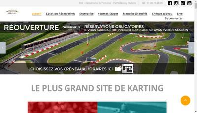 Site internet de Racing Kart de Cormeilles
