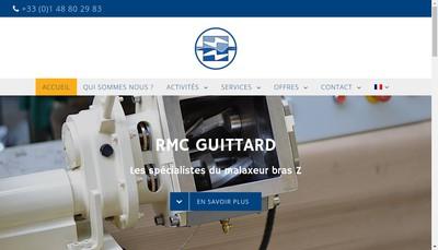 Site internet de RMC Marc Guittard