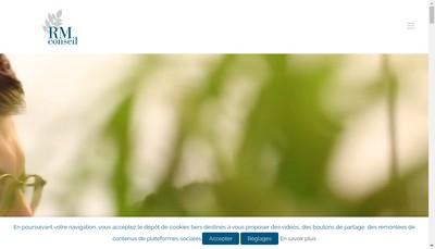Site internet de Rm Conseil