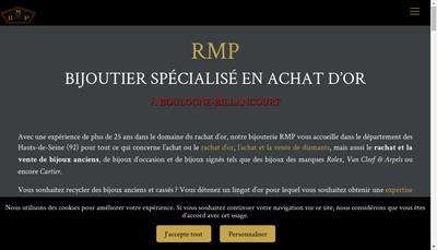 Site internet de RMP