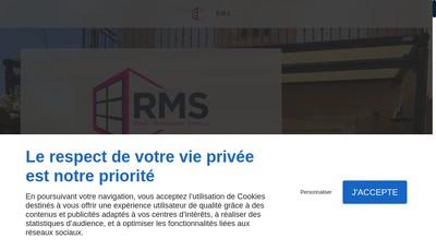 Site internet de Roaix Menuiserie Service