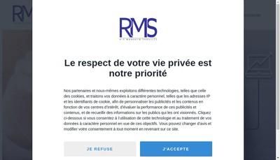 Site internet de Rio Managed Services