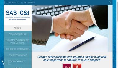 Site internet de SAS Ic&I