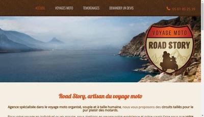 Site internet de Road Story