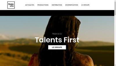 Site internet de Robin & Co