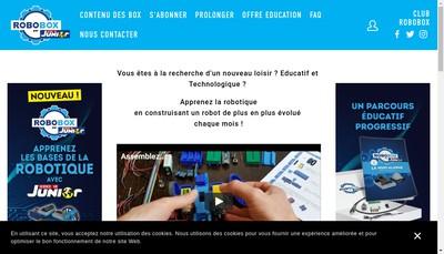 Site internet de Robobox