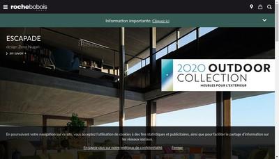 Site internet de Roche Bobois International