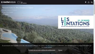 Site internet de Roche-Bobois