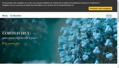 Site internet de Roche