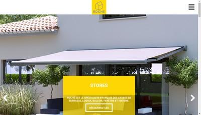 Site internet de Stores Roche