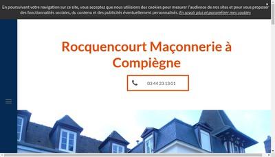 Site internet de Entreprise Rocquencourt