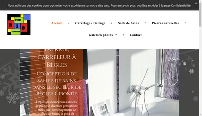 Site internet de EURL Rodrigues Jean Patrick