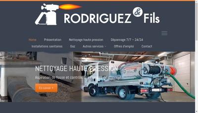 Site internet de Rodriguez et Fils