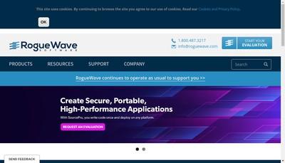 Site internet de Perforce Software