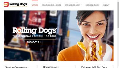Site internet de Rolling Dogs France