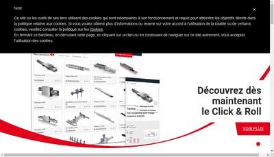 Site internet de Rollon