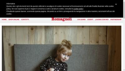 Site internet de Franco Romagnoli