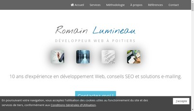Site internet de Romain Lumineau