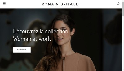 Site internet de Romain Brifault