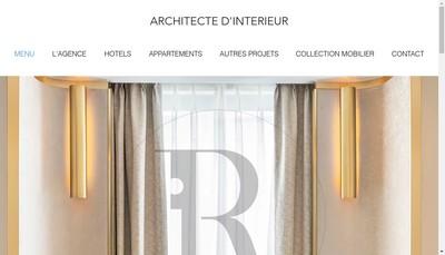 Site internet de Roque Interieurs