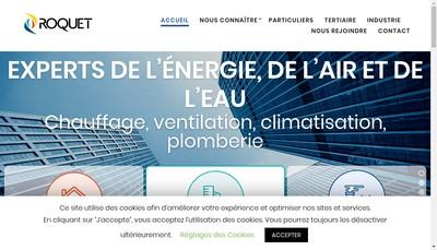 Site internet de Roquet