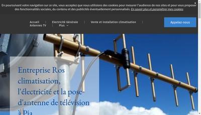 Site internet de Entreprise Ros