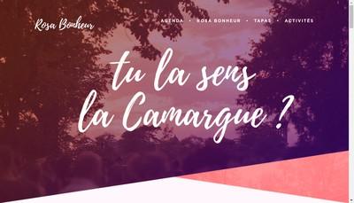Site internet de Rosa Bonheur sur Seine