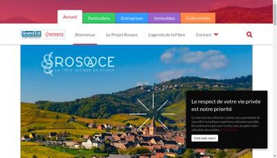 Site internet de Rosace