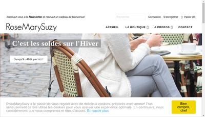 Site internet de Rosemarysuzy