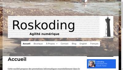 Site internet de Roskoding