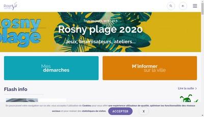 Site internet de Rosny