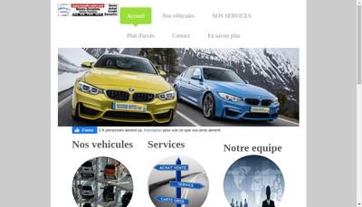 Site internet de Rosselle Autos
