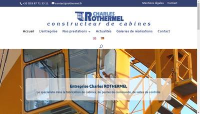 Site internet de Etablissements Charles Rothermel