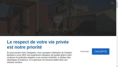 Site internet de Rouillon Createur de Jardins