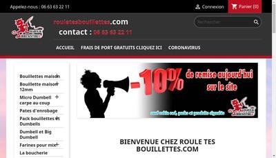 Site internet de Le Pain du Gastronome