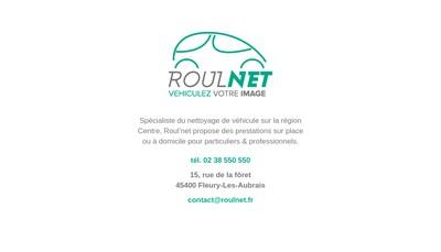 Site internet de Roul'Net SARL