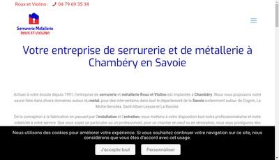 Site internet de Entreprise Roux-Violino