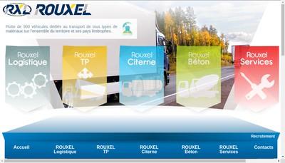 Site internet de Rouxel Citerne
