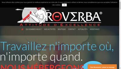 Site internet de Coverglobe Solutions France