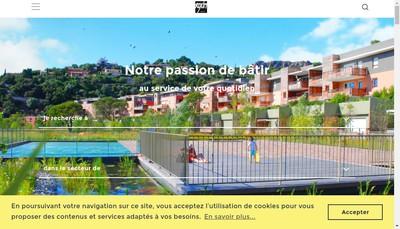 Site internet de Roxim Gestion