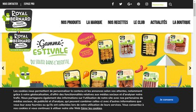 Site internet de Bernard Royal Dauphine