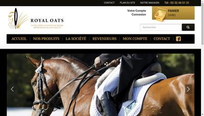 Site internet de Royal Oats