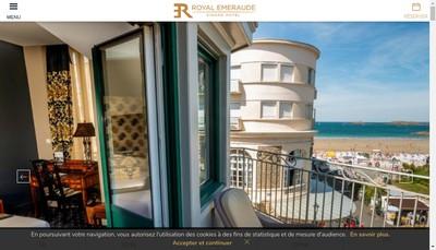 Site internet de Emeraude Hotel