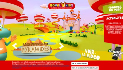 Site internet de Royal Kids