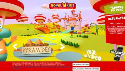 Site internet de Royal Kids