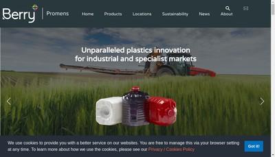 Site internet de Rpc Emballages Montpont