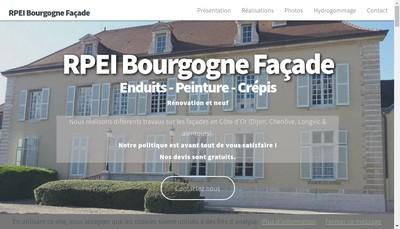 Site internet de Rpei Bourgogne Facade