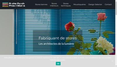 Site internet de Prosol et Store Prosol Com et Stores Pro-Sol Tolis